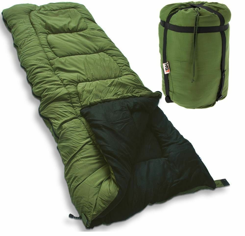 5 Seasons Warm Sleeping  Bag Carp Fishing High Tog Rating Bag Camping Hunting NGT  the best after-sale service