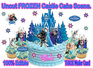 Disney Frozen Birthday Party Princess Anna Elsa Castle