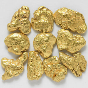 10-pcs-Alaska-Natural-Gold-From-Porcupine-Creek-TV-Gold-Rush-Alaska-G0-5