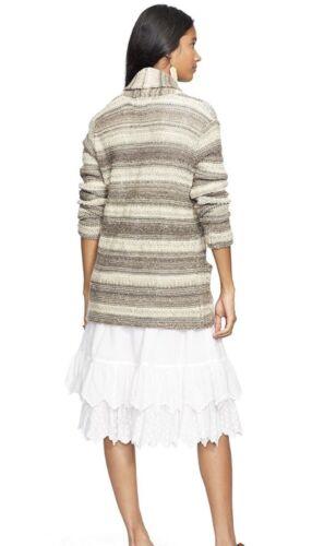 Cardigan laine Lauren pour supply XL en mélange de châle femmes Ralph taille Nwt Denim zHqWxIz6