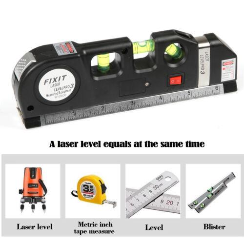 LIVELLA Noir Laser di polverine avec METRO LEVEL PRO 3 ELETTRONICA BOLLE 4 en 1