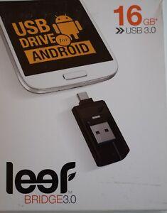 Leef-Bridge-16GB-Dual-USB-USB-3-0-Flash-Drive-for-Android-Phones-Tablet-amp-Laptop