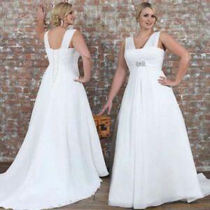 Brautkleid Hochzeitskleid Kleid Fur Mollige Braut Umstandskleid