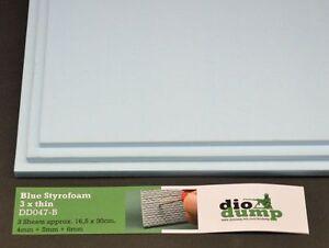 DioDump-DD047-B-Blue-Styrofoam-4-5-6mm-styrodur-diorama-building-materials