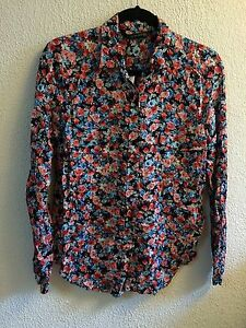 Zara Floral Blouse Ebay 47