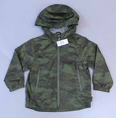 NEW GAP CAMO WINDBUSTER JACKET SIZE 12-18M 3T