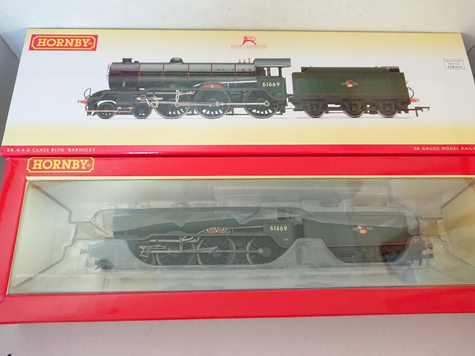 Hornby R3003 BR 4-6-0 Class B17 6  BARNSLEY  No. 61669 DCC Ready NEW