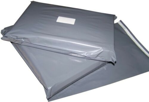 """1000-4/"""" x 6/""""  Strong Grey Mailing Bags Postage Poly Post Mail Envelopes"""