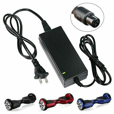 42V 2A Battery Charger for Scooter Hover Board Unicycle Self Balancing Electric