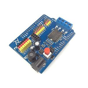 Freenove-Smart-Car-Shield-for-Arduino-UNO-R3-4A-Motor-3A-Servo-L298P-Wireless