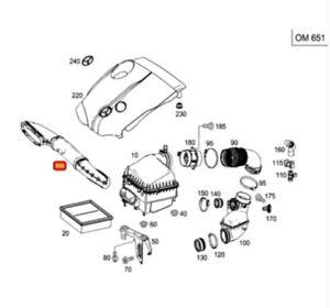 1 piece Fuel Cap for Mercedes W176 W205 W222 A200 C200 GLA200 S320
