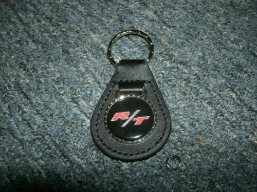 1960/'s 1970/'s DODGE CHARGER CHALLENGER CORONET DART R//T LEATHER KEYCHAIN BLACK