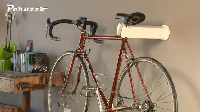 Peruzzo Cool Indoor Bike Rack Wall Mount Storage Universal Fit Black ...