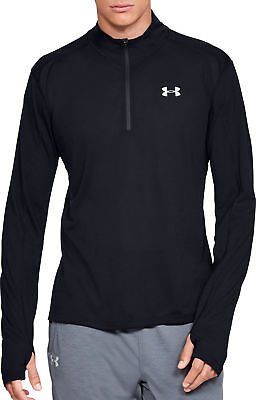 Clothing, Shoes & Accessories Men's Clothing Alert Under Armour Streaker 2.0 Half Zip Long Sleeve Mens Running Top Black