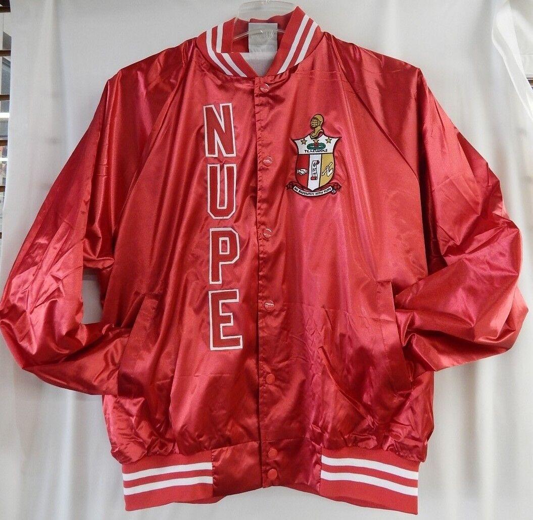 Kappa Alpha Psi nupe satén rojo chaqueta  Nuevo    Los mejores precios y los estilos más frescos.
