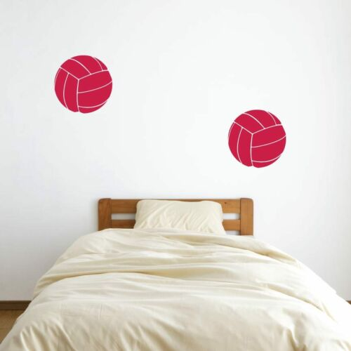"12/"" Volleyball Vinyl Wall Decals Kid/'s Room Pick Color Sports Decal 2"