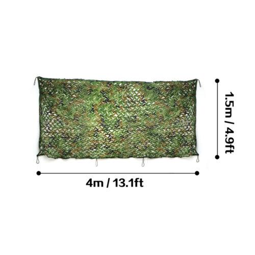 Tarnnetz Flecktarn Camouflage Jagd Armee Army Tarnung Dekonetz Woodland Netz DHL