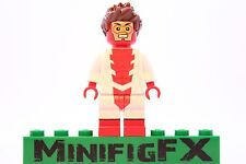 Lego IMPULSE Custom Minifig DC Super Hero Bart Allen Young Justice League Flash