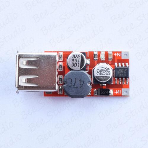 DC-DC Buck Step Down Converter 9-40V 12V//24V to 5V 2A Car USB Charger Module DIY