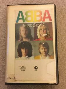 Abba-Music-Show-2-VHS-pre-cert-1980-Europa-VERY-RARE