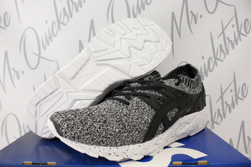 ASICS GEL KAYANO TRAINER KNIT SZ 8.5 HN7Q2 WHITE BLACK OREO SPECKLE HN7Q2 8.5 0190 4ba0f9