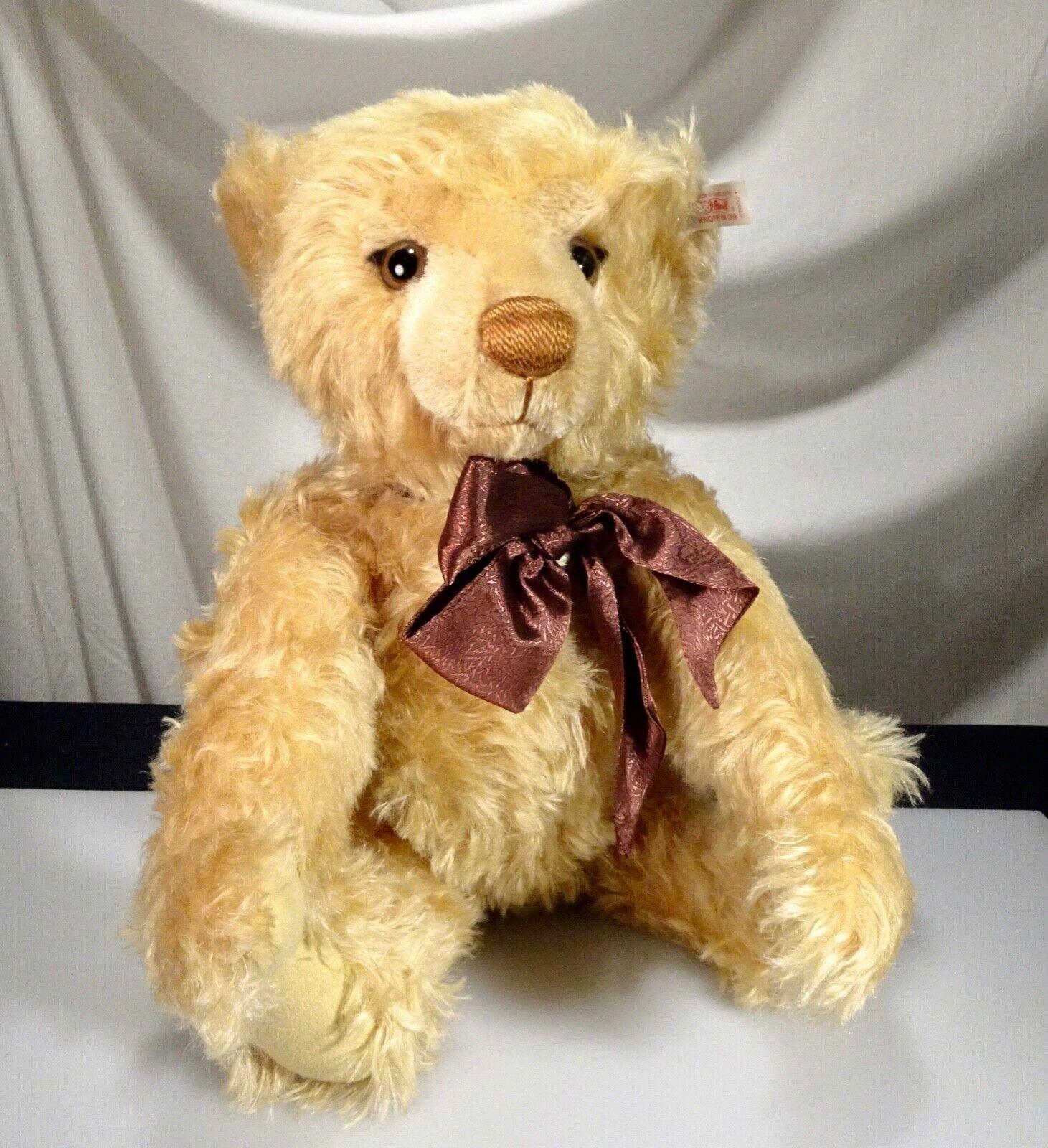 Steiff Millennium Verbunden Mohair Teddybär  670374, Neu - 56481
