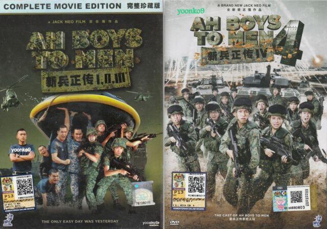 Ah chicos para hombre 1 2 3 4 _ película en DVD Singapur _ Inglés Sub _ PAL región 0