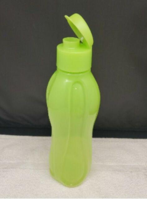 36oz NEW! Tupperware Water Bottle Eco Large in Aqua Blue 1L