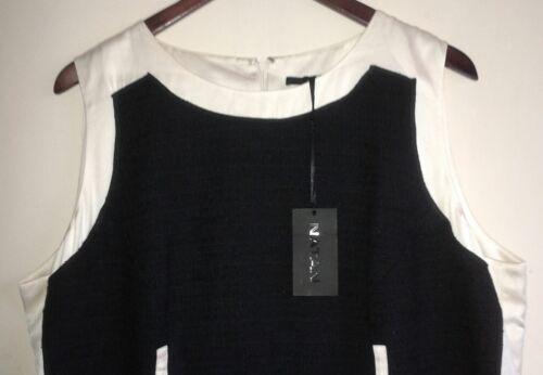 Dress 00 Eu Black cream 500 48 20 Uk £ Rrp Natan ZREwqgq
