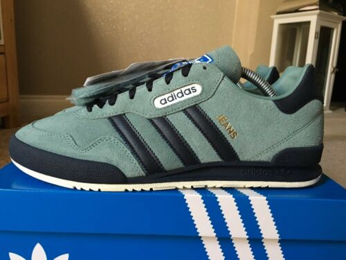 Adidas Jeans Super OG Vapour Grey Size 8 Deadstock 80s Retro Football Casuals
