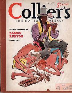 1937-Colliers-August-7-Damon-Runyon-Alan-LeMay-Franco-in-Spain-Skeet-shooting