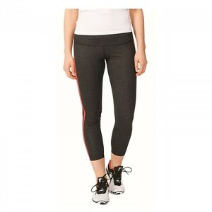 adidas Leggings Hose Damen grau ESS 3S Performance Fitness 7/8 Tight