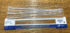 "25x REBORN DOLL LONG & THIN CABLE TIES - 14"" / 356mm LONG, 0.09"" / 2.29mm WIDE"