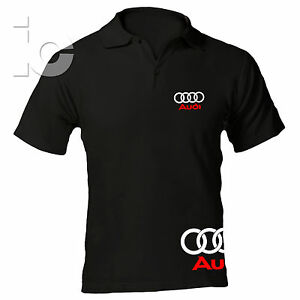 polo audi racing maglia tt a3 a4 a6 rs t shirt ebay. Black Bedroom Furniture Sets. Home Design Ideas
