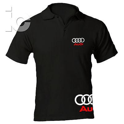 Polo Audi Racing Maglia TT A3 A4 A6 RS t-shirt