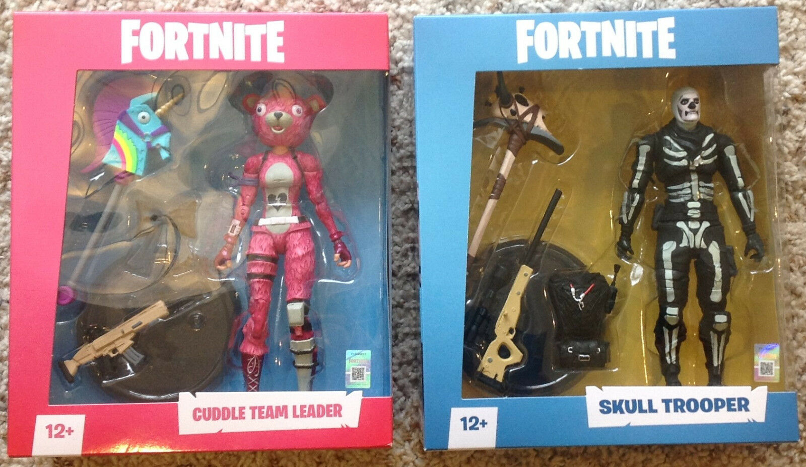Fortnite Cuddle Team Leader & Skull Trooper McFarlanes Toys  NEW IN BOX