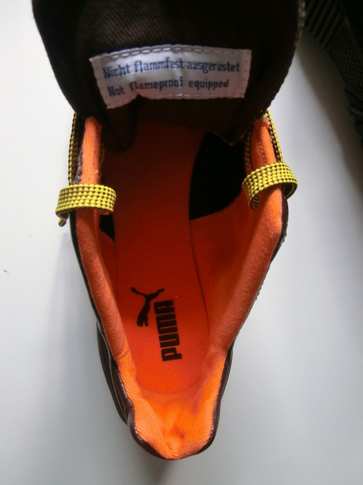 Puma Herren Sport braun-orange Schuhe Grit Cat III braun-orange Sport Gr.8 44b45d