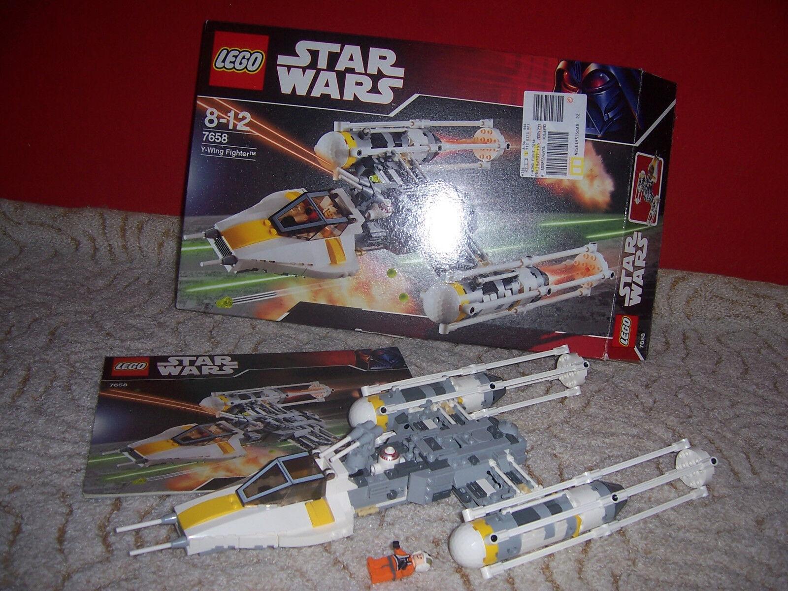 LEGO StarWars 7658 Y-wing Fighter mit OVP