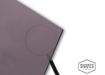 #2412 Acrylic Plexiglass Sheet 1//8 x 11x14 1 Sheet Bronze