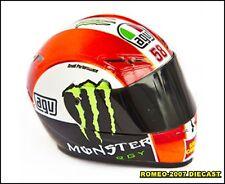 1:5  AGV Marco Simoncelli Helmet Casco Honda Moto GP 2011 no minichamps RARE NEW