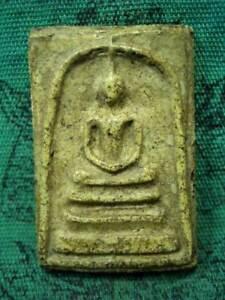 Phra-Somdej-Back-Chinese-Text-Kru-Wat-Phra-Kaew-Talisman-Thai-Buddha-Amulet
