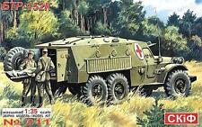 BTR 152 K apc/Ambulancia-Soviética & Pacto de Varsovia automóvil blindado 1/35 SKIF Rara!