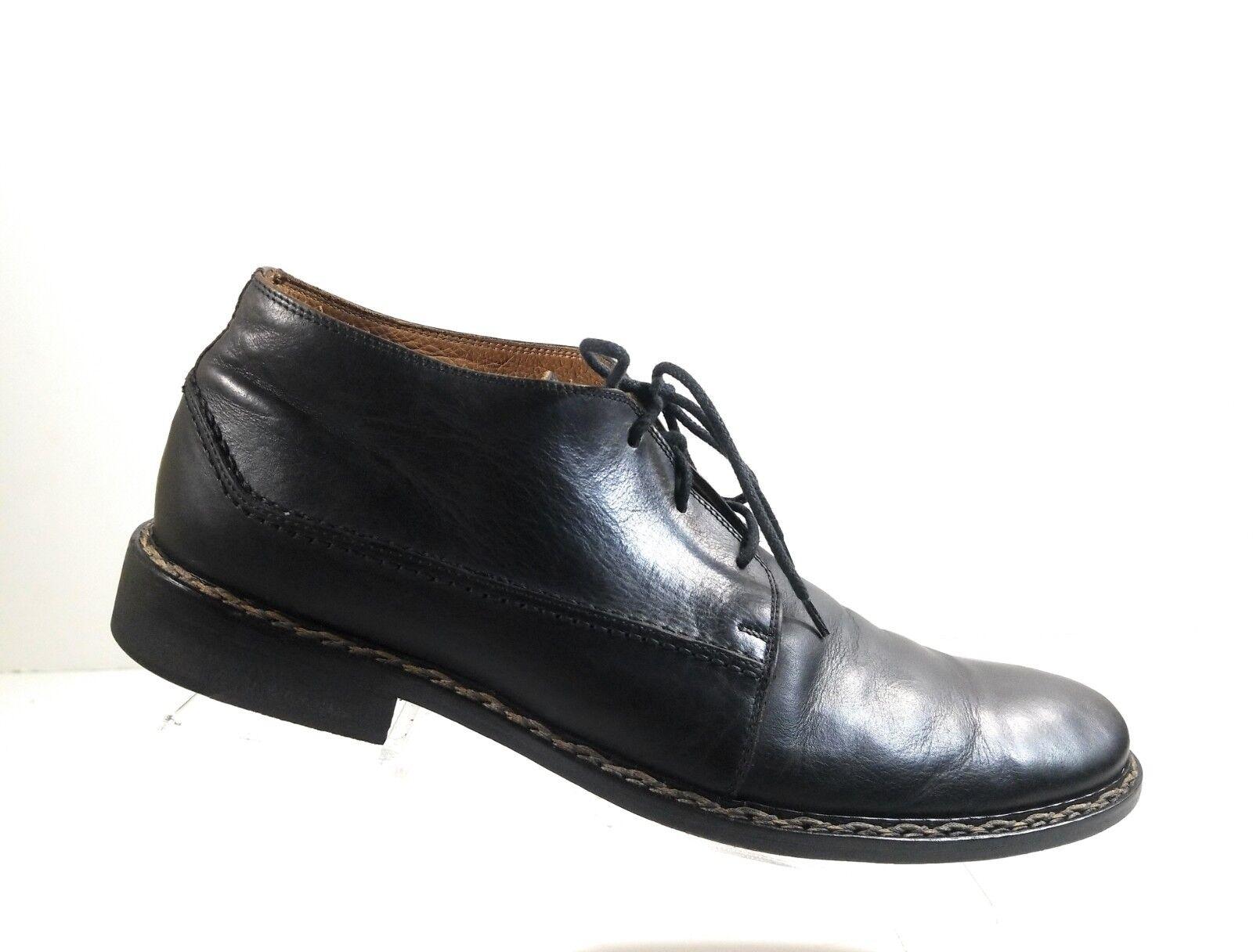 4802ca6e John Varvatos Hombres Negro Cuero Oxford De Vestir Con Cordones Alto Zapatos  Sólido Top nbiluy2446-Zapatos de vestir