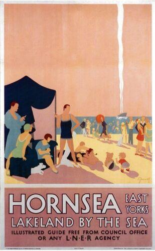 048 Vintage Arte Cartel De Ferrocarril-Hornsea