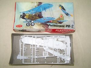 Ddr-Cz-Model-Kit-Model-Construction-Aircraft-Double-Decker-Toy