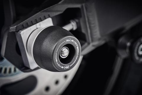 2018 onwards KAWASAKI Z900RS Rear Axle Crash Protection Evotech Performance