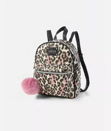 Justice CHEETAH Mini Backpack New with Tags