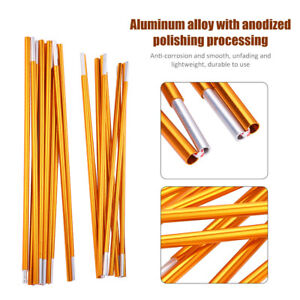2Pcs-Aluminum-Alloy-Outdoor-Tent-Poles-Rod-Camping-Travel-Replacement-Accessory