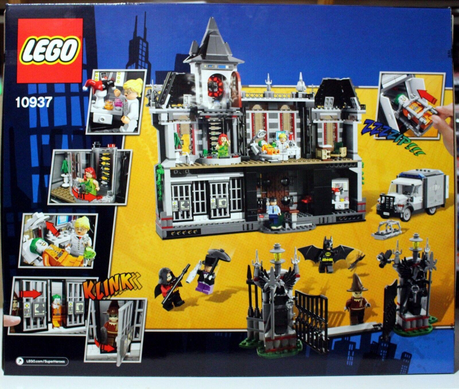 NEW LEGO BATMAN ARKHAM ASYLUM BREAKOUT BREAKOUT BREAKOUT SET 10937 - DC SUPER HEROES - 1619 PIECES 6964b0