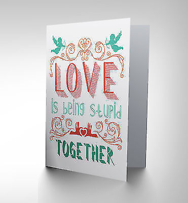 i miss your face  greeting card Card Love 115x170mm  quote